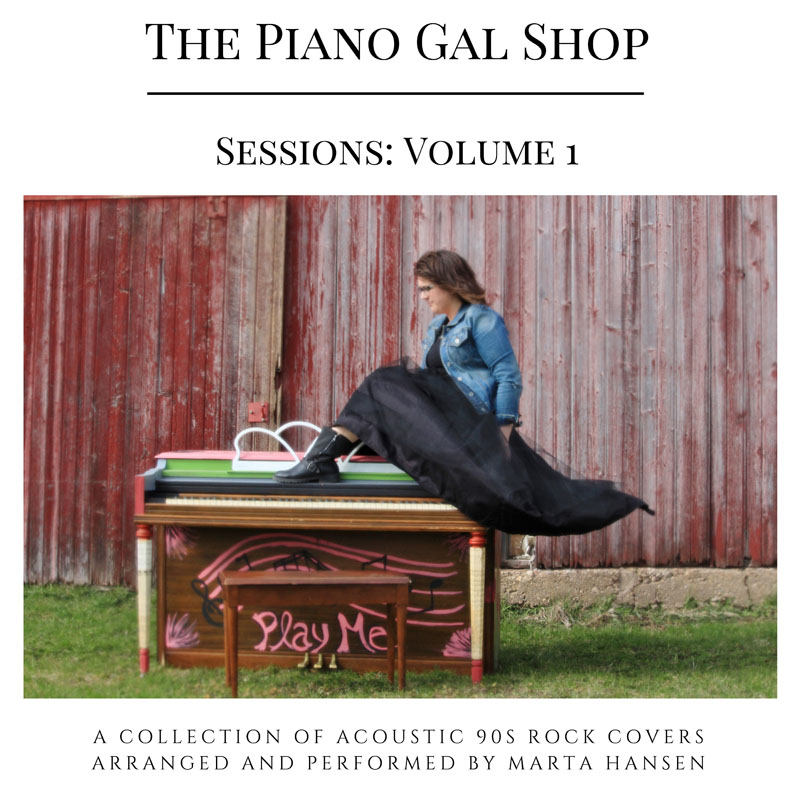 The Piano Gal Shop Sessions: Vol. 1