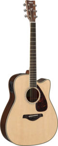 FGX830BS with Rosewood