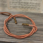 Piano Wire Pendant Earrings